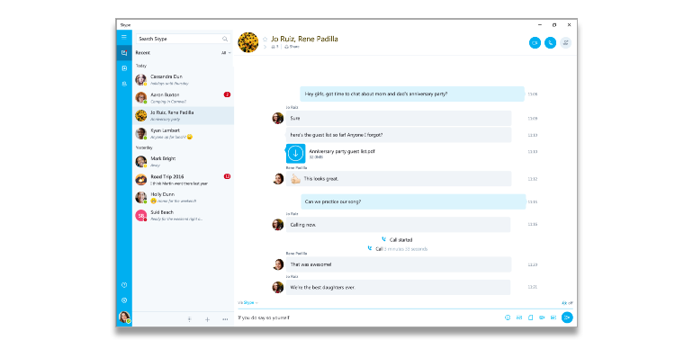 skype - Ways to Drive Traffic to Your Website