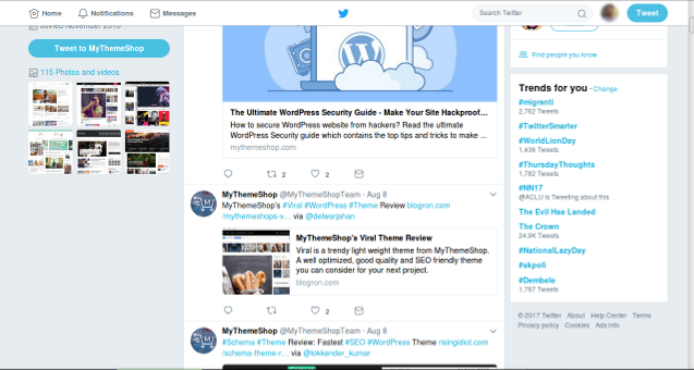 twitter - Ways to Drive Traffic to Your Website
