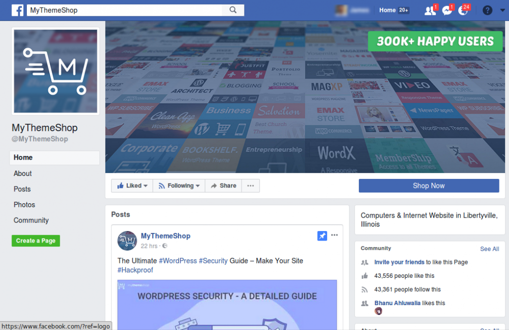 facebook - Ways to Drive Traffic to Your Website